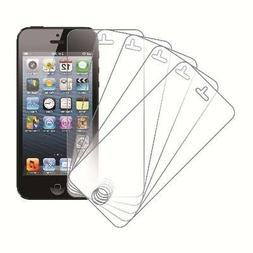 eTECH Collection 5 Pack of Anti-Glare Screen Protectors for