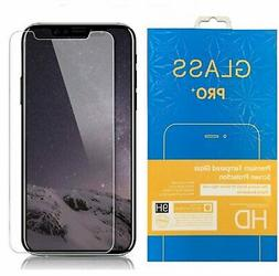 Crystal Clear Tempered Glass Screen Protector for iPhone Xs