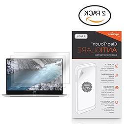 BoxWave Dell XPS 13  Screen Protector, ] Anti-Fingerprint Ma