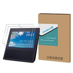 Echo Show Screen Protector, Cubevit Echo Show 2 Pack Tempere