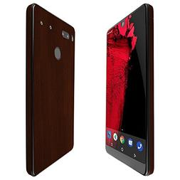 Essential Phone Screen Protector + Dark Wood Full Body, Skin