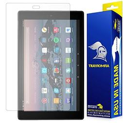 All-New Fire HD 10 Anti-Glare Screen Protector ArmorSuit Mil