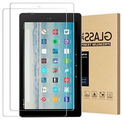 All-New Fire HD 10 Screen Protector, Tempered Glass Screen P