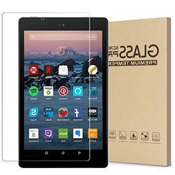 Fire HD 10 Screen Protector, Tempered Glass Screen Protector