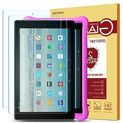 OMOTON Screen Protector for Fire HD 10 / Fire HD 10 Kids Ed