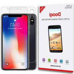Front + Back Full Body Coverage HD Clear Screen Protector Fo