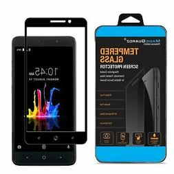 FULL COVER Tempered Glass Screen Protector Guard ZMAX For ZT