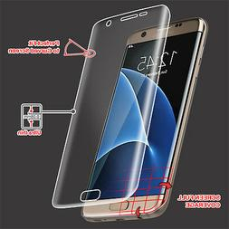 Full Curved Cover LCD Screen Protector Film Clear for Samsun