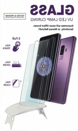Galaxy 9  Screen Protector UV Tempered Glass Shield Full 3D