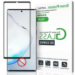 Galaxy Note 10 Plus  amFilm Real Full Cover Tempered Glass S
