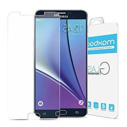 Galaxy Note 5 Screen Protector, Maxboost  Glass Screen Prote