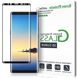amFilm Galaxy Note 8 Screen Protector Glass , Dot Matrix 3D