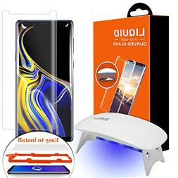 Galaxy Note 9 Screen Protector Tempered Glass, Olesit  2.5D