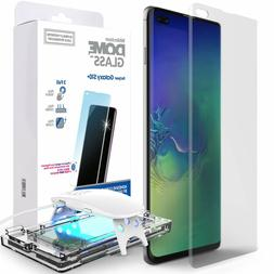 Galaxy S10 S10+ S10e PLUS Screen Protector Dome Glass 3D Cur