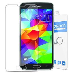 Galaxy S5 Screen Protector, Maxboost  Screen Protector for S
