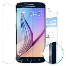 Galaxy S6 Screen Protector, Maxboost® Tempered Glass  + PET