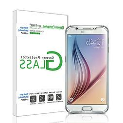 amFilm Galaxy S6 Screen Protector Tempered Glass  and PET  S