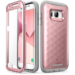 Galaxy S7 Edge Case, Clayco  Full-body Rugged Case with Buil