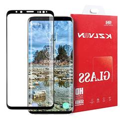 KZLVN Galaxy S8 PLUS Screen Protector,Full Coverage HD Clear