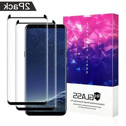 Galaxy S8 Screen Protector,ZUOXI Tempered Glass,9H Hardness