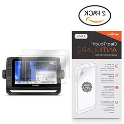BoxWave Garmin echoMAP Plus 93sv Screen Protector, ] Anti-Fi