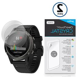 Garmin Fenix 5 Screen Protector, BoxWave ] HD Film Skin - Sh