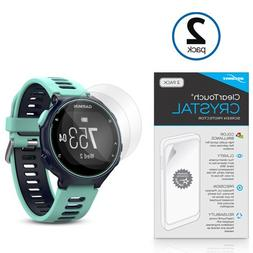 BoxWave Garmin Forerunner 735XT Screen Protector, ] HD Film