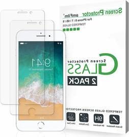 amFilm Glass Screen Protector for iPhone 8, 7, 6S, 6  Temper