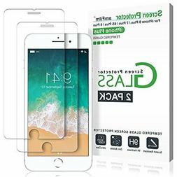 amFilm Glass Screen Protector for iPhone 8 Plus, 7 Plus, 6S