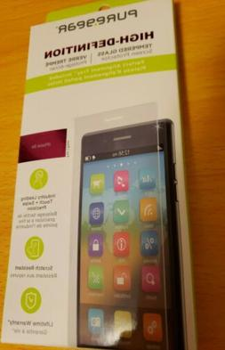 PureGear High Definition Tempered Glass Screen Protector for