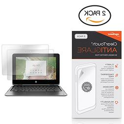 HP Chromebook x360 11 G1 EE Screen Protector, BoxWave ] Anti