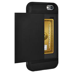 AMZER Full Body Hybrid Credit Card Wallet Case with Built-in
