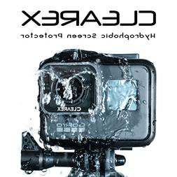 CLEAREX Hydrophobic Screen Protector for GoPro Hero 5, 6, &