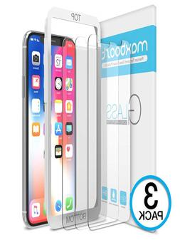iPhone X Screen Protector, Maxboost  iPhone X Tempered Glass
