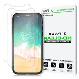 iPhone 11 Pro / XS / X amFilm Premium HD Clear Screen Protec