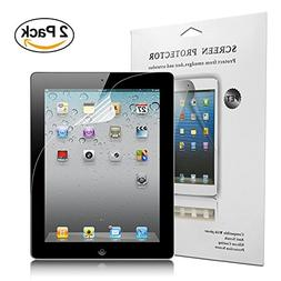 iPad 2 3 4 Screen Protector, Jwest Soft Screen Protector HD
