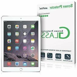 amFilm iPad 9.7 Screen Protector Tempered Glass for Apple iP