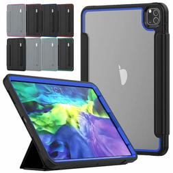 """For iPad Pro 12.9"""" 11"""" 2018 2020 Shockproof Leather Screen P"""