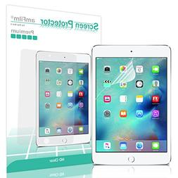amFilm iPad Mini 4 Screen Protector HD Clear for Apple iPad