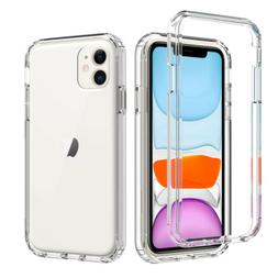 For iPhone 11/11 Pro/ 11 Pro Max Clear Case Shockproof Cover