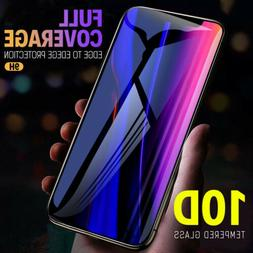 For iPhone 11 Pro Max 2019 10D Full Cover Tempered Glass Scr