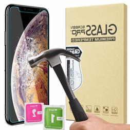 For iPhone 11 Pro Max XR XS X 9H Tempered Glass Film Anti-Sh