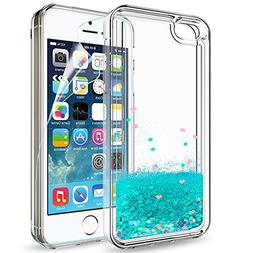 iPhone 5S Case, iPhone SE/SE 2 Case with 2pcs Tempered Glass