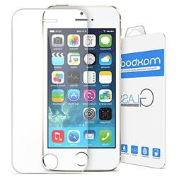 iPhone 5S Screen Protector, Maxboost iPhone 5S / 5 / 5C Glas