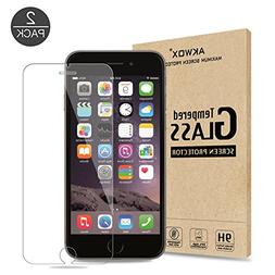 iPhone 6S Plus Screen Protector, Akwox 0.33mm High Definiti