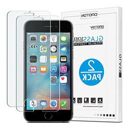 OMOTON iPhone 6S 6 Screen Protector  -    Tempered Glass Scr
