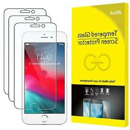 JETech 3-Pack Screen Protector for Apple iPhone 8, iPhone 7,