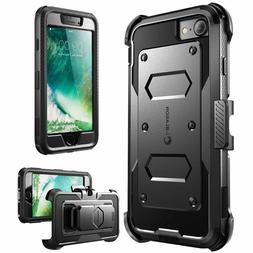 iPhone 7 and 8 Case, i-Blason ArmorBox Daul Layer, Built in