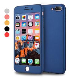 iPhone 7 Plus Case, VANSIN 360 Full Body Protection Hard Sli