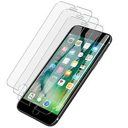 LK iPhone 7 Screen Protector,  with Lifetime Replacement Wa